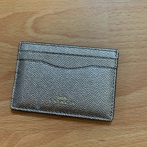 Coach - Metallic Gold Cardholder